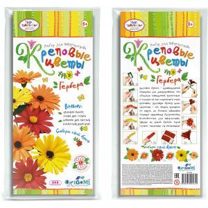 Креповые цветы своими руками Гербера Чудо-Творчество