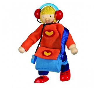 Кукла деревянная Сын Goki