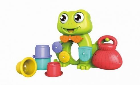 Набор для купания Веселая лягушка (6 предметов) Наша Игрушка