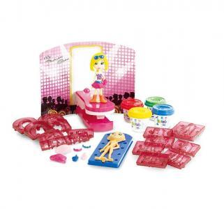 Набор пластилина застывающий  Модница Playgo