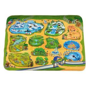 Игровой коврик  Зоопарк Teplokid. Цвет: gelb/grün