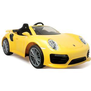 Электромобиль  Injusa Porsche 911 Turbo S, 6V, желтый. Цвет: желтый