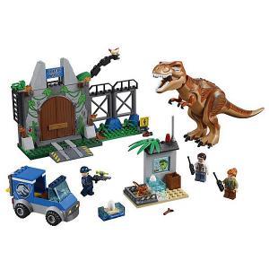 Конструктор  Juniors 10758: Побег Ти-Рекса LEGO