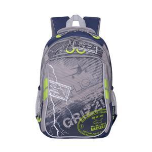 Рюкзак , цвет: синий/серый Grizzly
