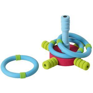 Игровой набор Safsof Мини-кольцеброс. Цвет: голубой