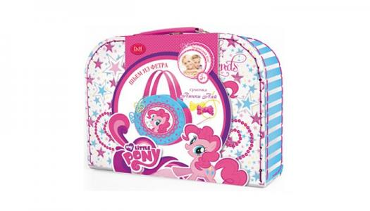 Набор шьём сумочку Пинки Пай My Little Pony Docha&Mama