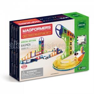 Конструктор  Магнитный Sky Track Adventure set (64 детали) Magformers