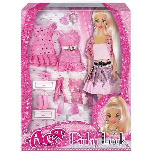 Кукла  Розовый в моде Ася, 28 см Toys Lab. Цвет: розовый