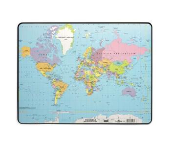 Настольное покрытие 40х60 Карта Мира Durable