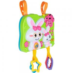 Мобиль  Rabbit 2 in 1 с функцией проектора, розовые ушки и одежда Fivestar Toys