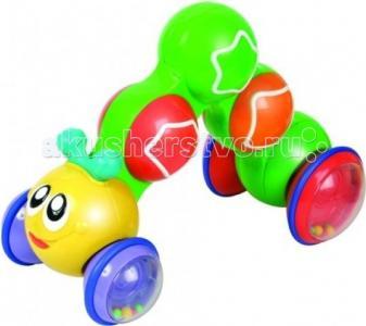 Развивающая игрушка  Гусеница нажми, чтобы ехать Unimax