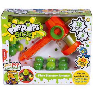 Игровой набор Yulu PopPops Snotz Молоток BANDAI. Цвет: зеленый
