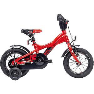Двухколесный велосипед  XXlite 12, красный Scool. Цвет: красный