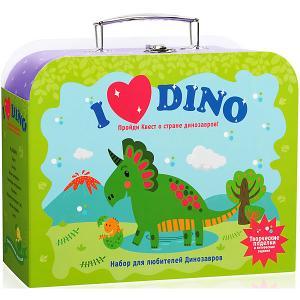 Чемоданчик с развлечениями  Я люблю динозавров Бумбарам. Цвет: разноцветный