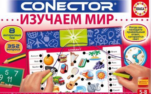 Электровикторина Conector Изучаем мир Educa