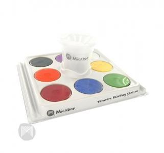 Гуашь  набор для творчества паллетка стакан гуашевая краска Micador