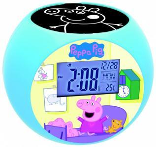 Часы  Проектор Свинка Пеппа Lexibook