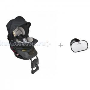 Автокресло  Kurutto NT2 Premium с автомобильным зеркалом Ailebebe Monitor Mirror Carmate