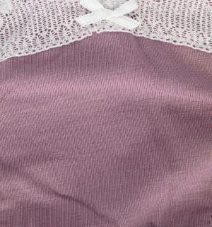 Трусы  низкие с кружевом Amethyst, цвет: лиловый Мамин Дом