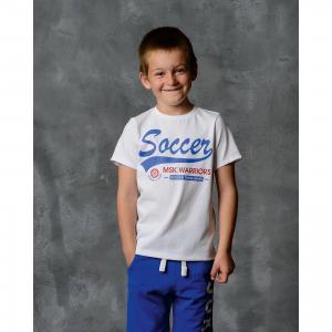 Футболка для мальчика Modniy Juk. Цвет: белый