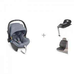 Автокресло  Mesa I-Size с базой 1018-MSB-EU и чехлом для автомобильного сиденья Diono Grip-It UPPAbaby