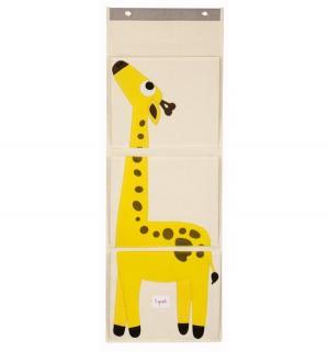 Органайзер на стену  Жираф, цвет: желтый 3 sprouts