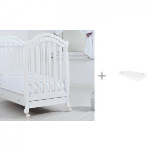 Детская кроватка  Джозеппе + матрас Баю-Бай 120x60 Гандылян