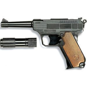 Пистолет  Lionmatic, 26,5 см Edison. Цвет: черный