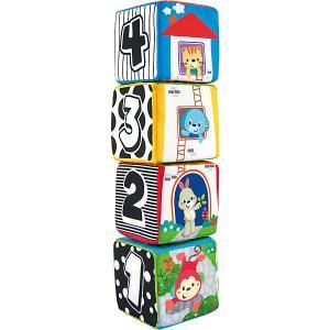 Мягкие кубики  Животные WinFun