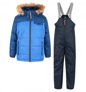 Комплект куртка/полукомбинезон  Nadi, цвет: синий Luhta