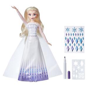 Кукла Disney Princess Холодное сердце 2 Эльза, c аксессуарами Hasbro. Цвет: синий/белый