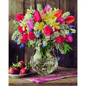 Картина по номерам Цветы из домашнего сада 40х50 см Schipper