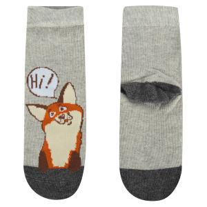 Носки  Лисичка, цвет: серый Mark Formelle