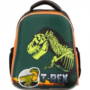 Ранец Basic T-Rex (светящийся кант) №1 School