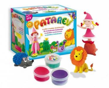 Пластилин для детской лепки Патарев 6 цветов SentoSpherE