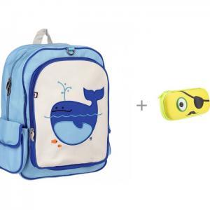 Рюкзак Lucas-Whale с пеналом Zipit Beast Box Beatrix