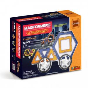 Конструктор  Магнитный Xl Сruisers Машины 63073 Magformers