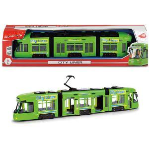 Городской поезд , 45 см Dickie Toys. Цвет: красный