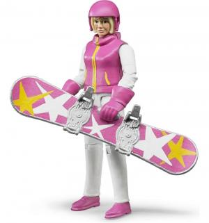 Сноубордистки с аксессуарами Bruder