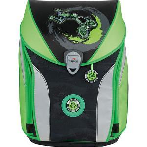 Ранец Derdiedas Ergoflex Max Райдер BMX, c наполнением. Цвет: светло-зеленый
