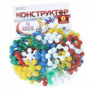 Конструктор  Мини Собирай-ка (70 элементов) Биплант