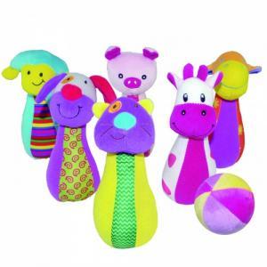 Развивающая игрушка  Набор боулинга Счастливая ферма Biba Toys