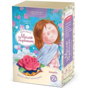 Набор для создания мыла-пирожного Josephin Счастливая девочка Josephine. Цвет: разноцветный