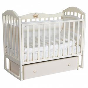 Детская кроватка  Emily 1 (универсальный маятник) Кедр