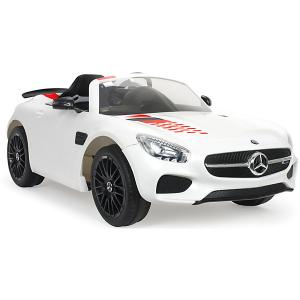 Электромобиль Injusa Mercades Benz AMG GT S, 12V, белый. Цвет: белый
