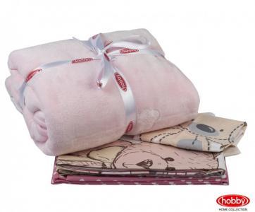 Комплект в кроватку  с покрывалом Tombik (5 предметов) Hobby Home Collection