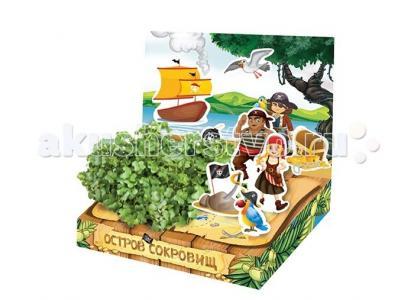 Детский набор для выращивания Остров сокровищ Happy Plant