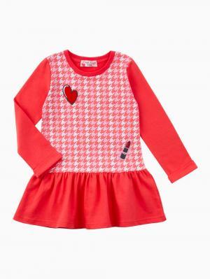 Платье  Мадмуазель, цвет: красный Free Age