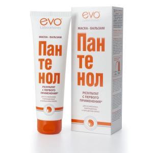 Маска-бальзам  для ослабленных поврежденных окрашенных и сухих волос Пантенол, 150 мл Evo