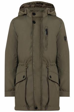 Куртка , цвет: зеленый Finn Flare